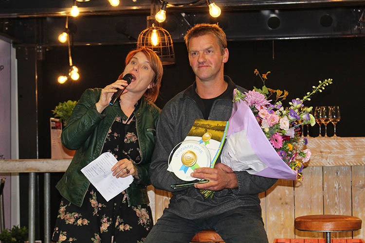prijsuitreiking Cum Laude Award 2018 boter