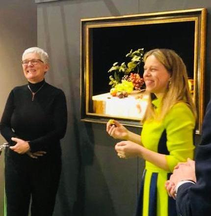 Taste the Dutch Masters werd geopend door minister Carola Schouten en SlowFood voorzitter Nelleke Don