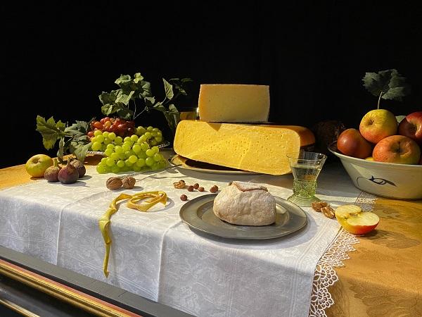 voor Taste the Dutch Masters werd een hedendaagse versie van een 17e eeuws stilleven ingericht
